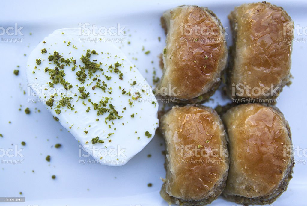 Turkish Sweets royalty-free stock photo