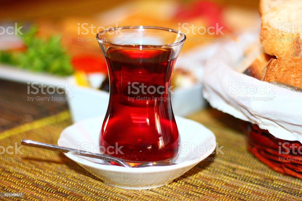Turkish Tea stok fotoğrafı