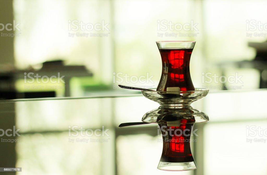 土耳其文的茶 免版稅 stock photo