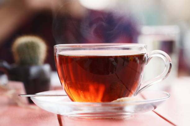 turkish tea - tea hot drink stock photos and pictures