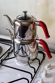 Turkish teapot stainless steel teapots set
