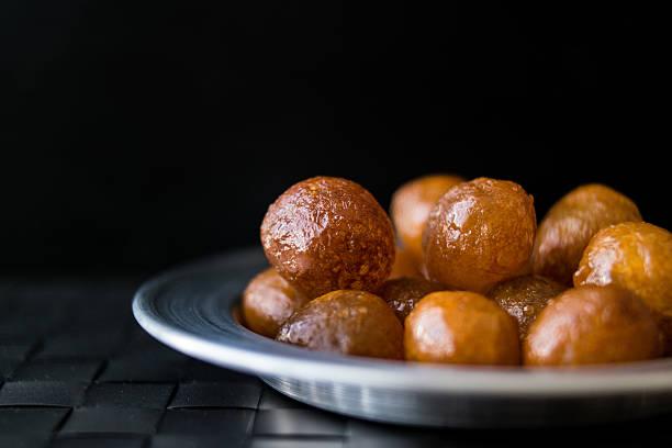 Turkish Traditional Dessert Lokma. - foto de acervo
