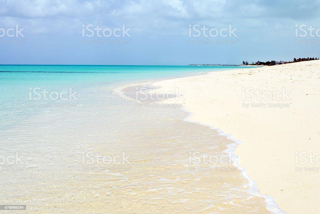 Turks and Caicos Beach stock photo