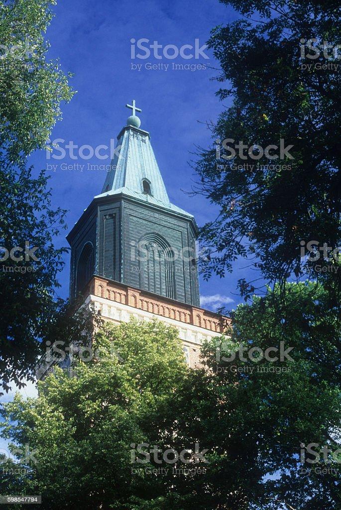 Cathédrale de Turku photo libre de droits