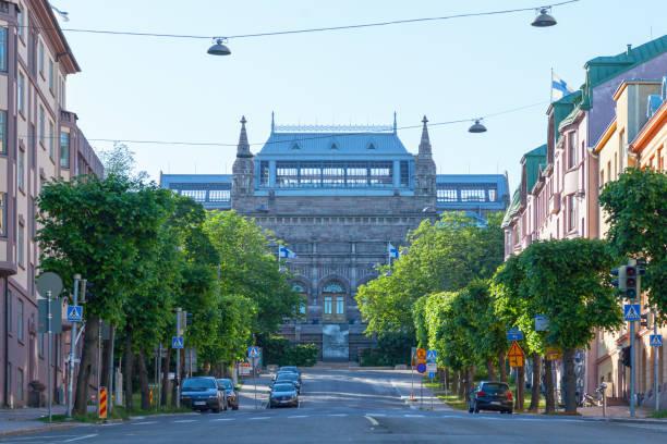 Turku Museum of Art stock photo