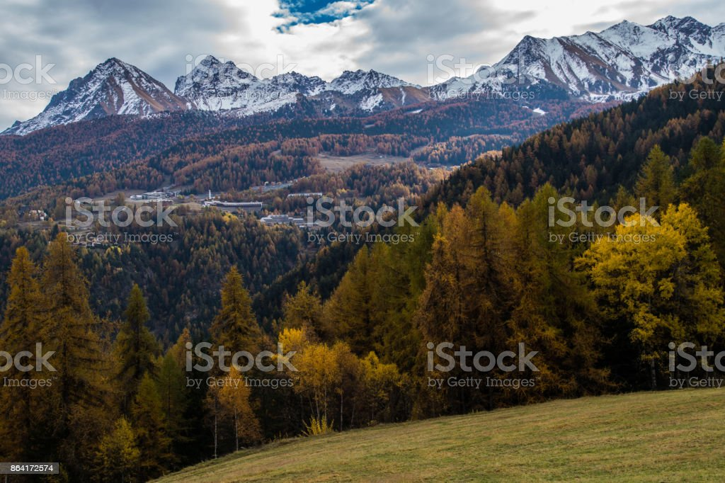 turlin,ozein,val d'aoste,italy royalty-free stock photo