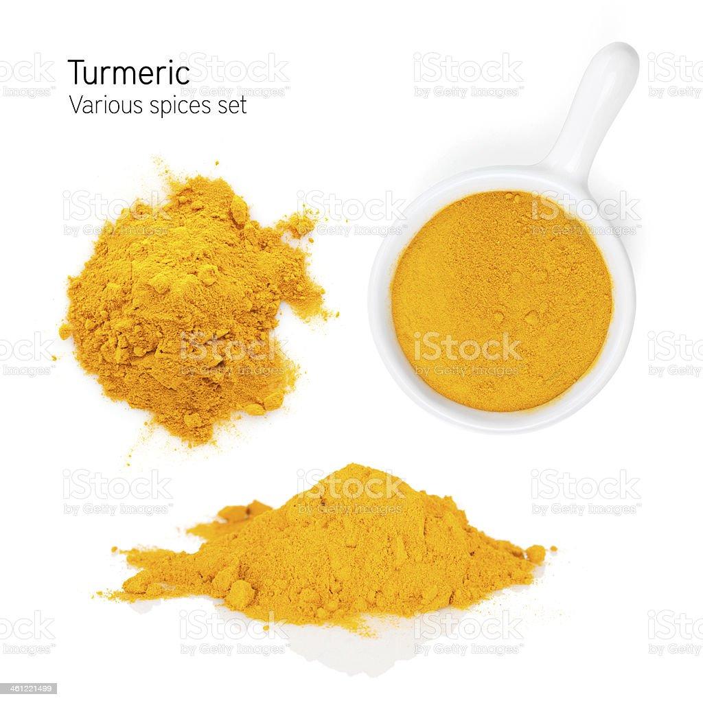 Turmeric stock photo