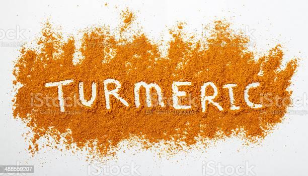 Turmeric Powder Stock Photo - Download Image Now