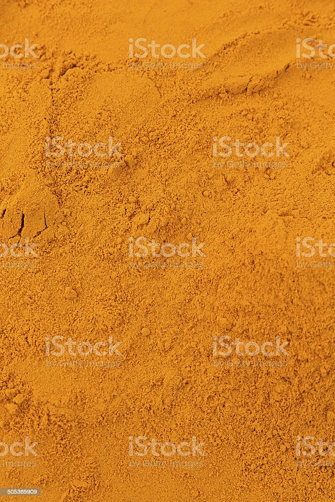 Turmeric Powder stock photo