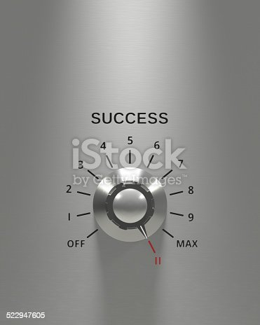 When it comes to success, go beyond the max, turn it up to 11. Similar file: