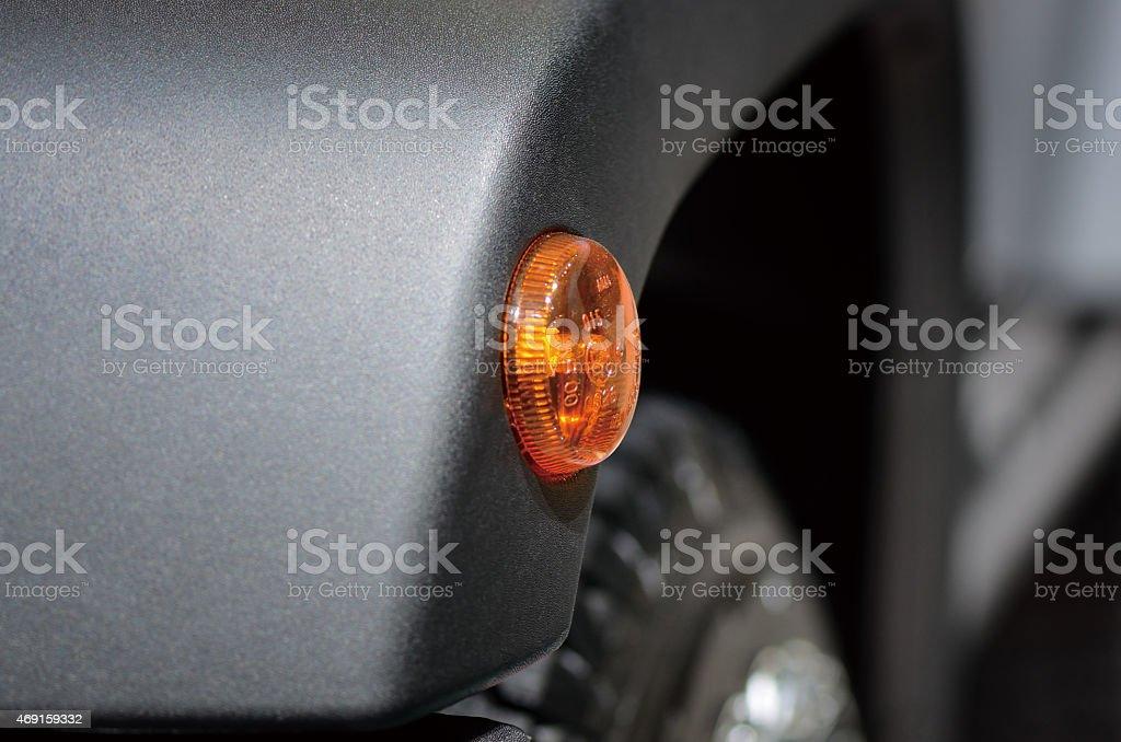 Turn Signal Lights stock photo