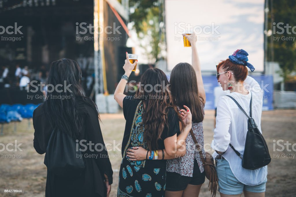 Turn the music on. Afterpary can start royalty-free stock photo