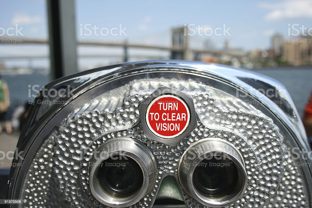 Turn to Clear Vision royalty-free stock photo