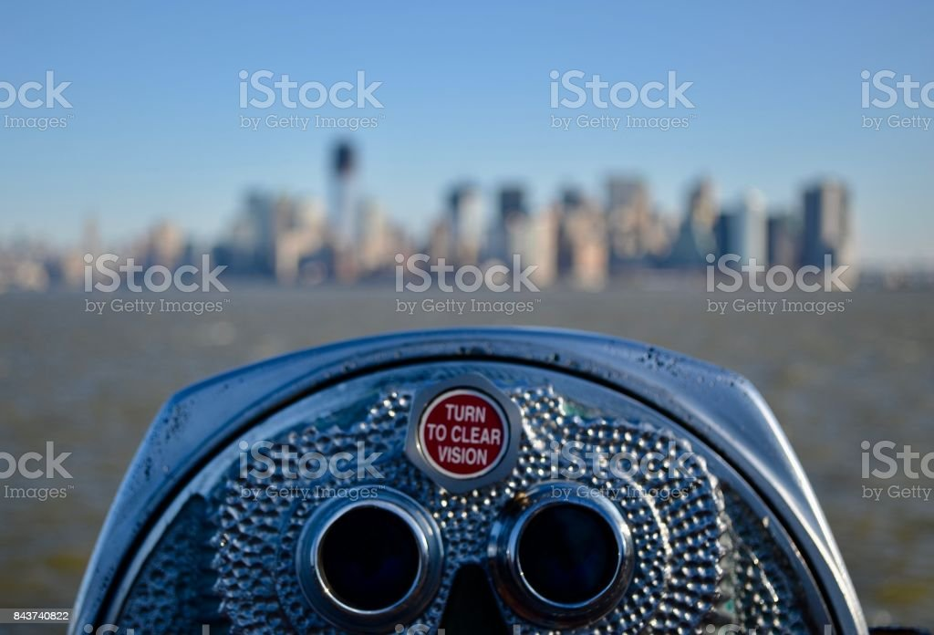 Turn to make clear stock photo