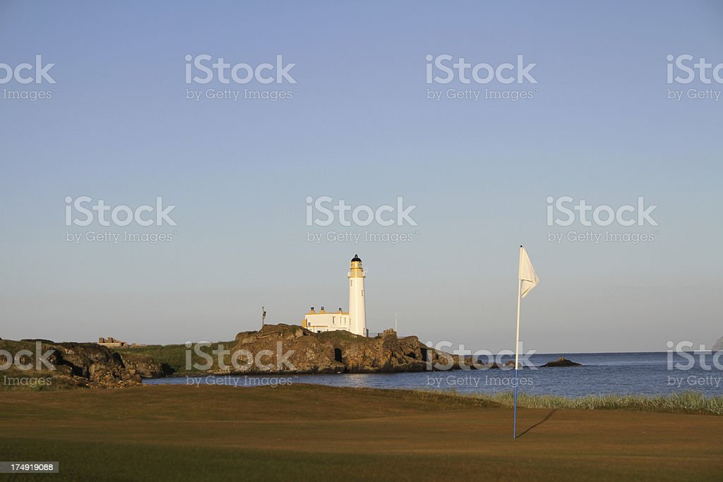 Turnberry Golf Course, Scotland stock photo