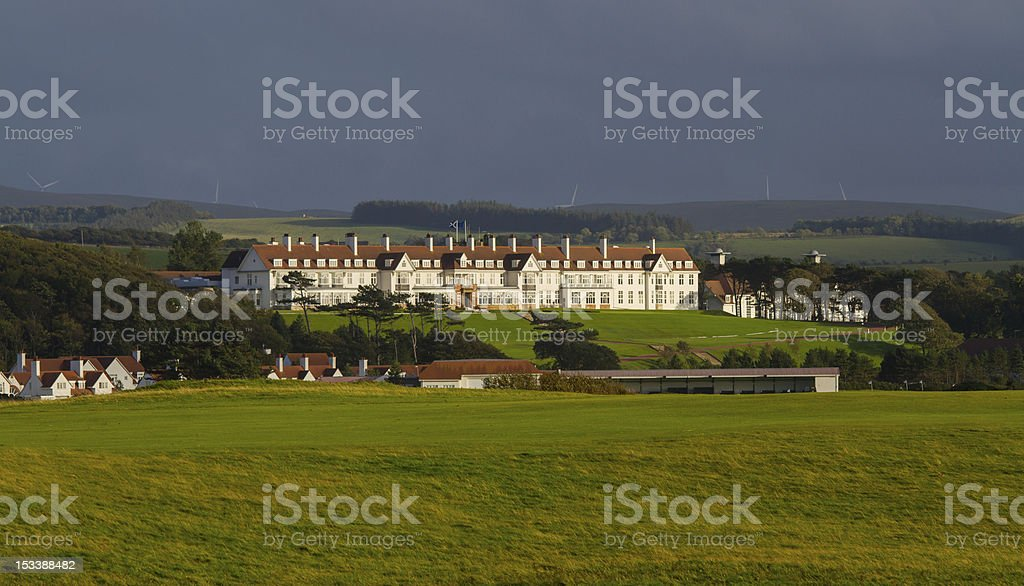 Turnberry Golf Hotel, Ayrshire stock photo