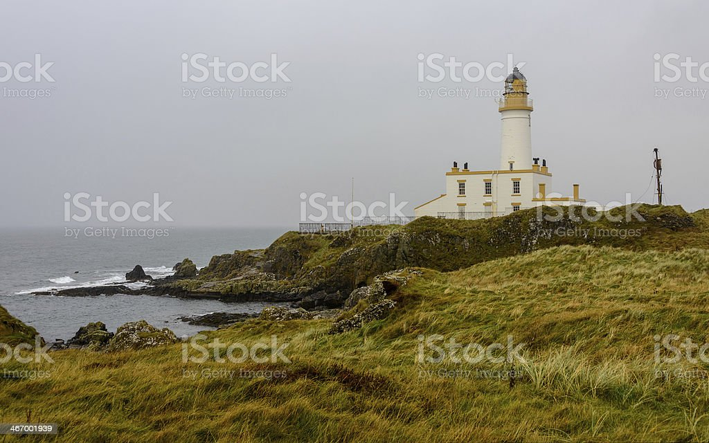 Turnberry lighthouse stock photo