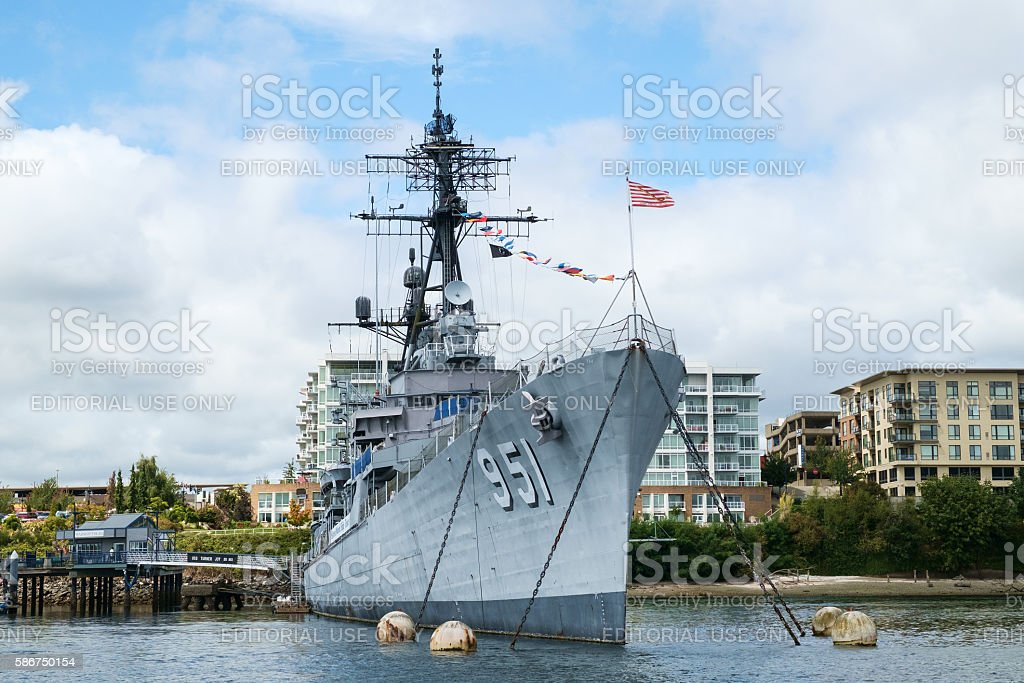USS Turner Joy stock photo