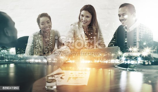 istock Turning ideals into deals 839041950