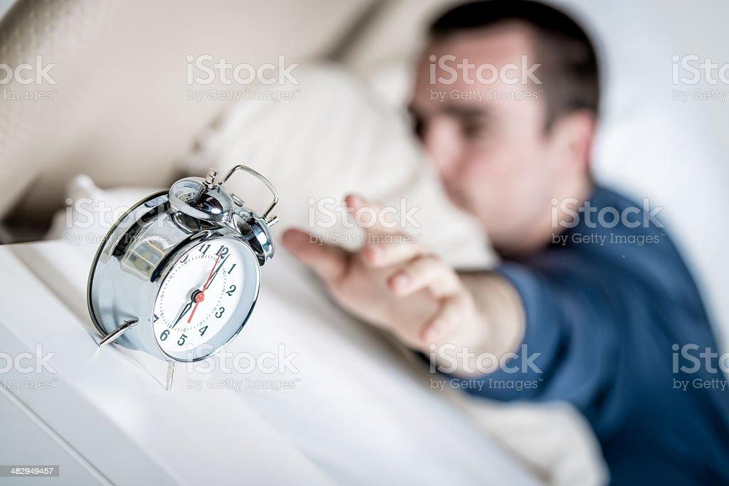 Turning off stock photo