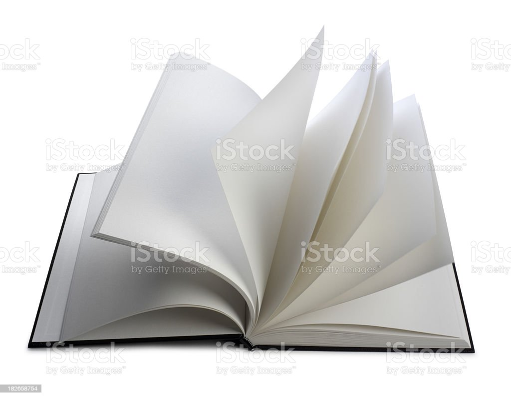 Turning Pages stock photo