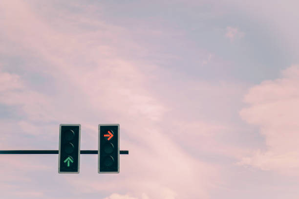 keerpunt in reizen - dwarsweg stockfoto's en -beelden