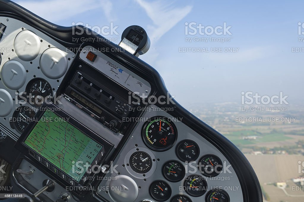 Turning to starboard stock photo