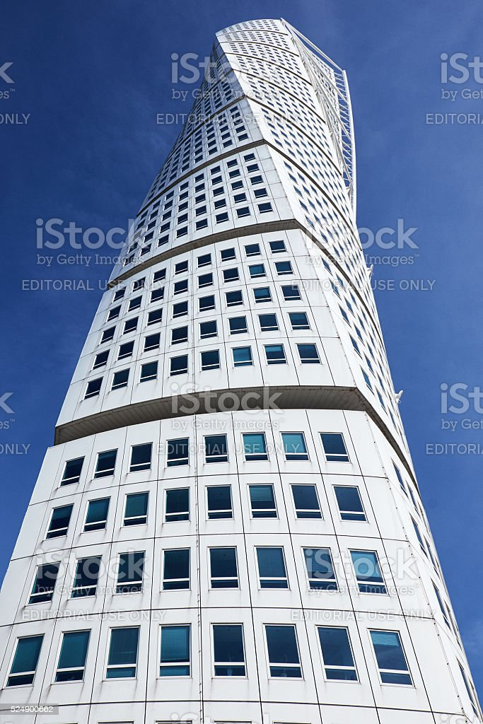 turning torso by calatrava stock photo