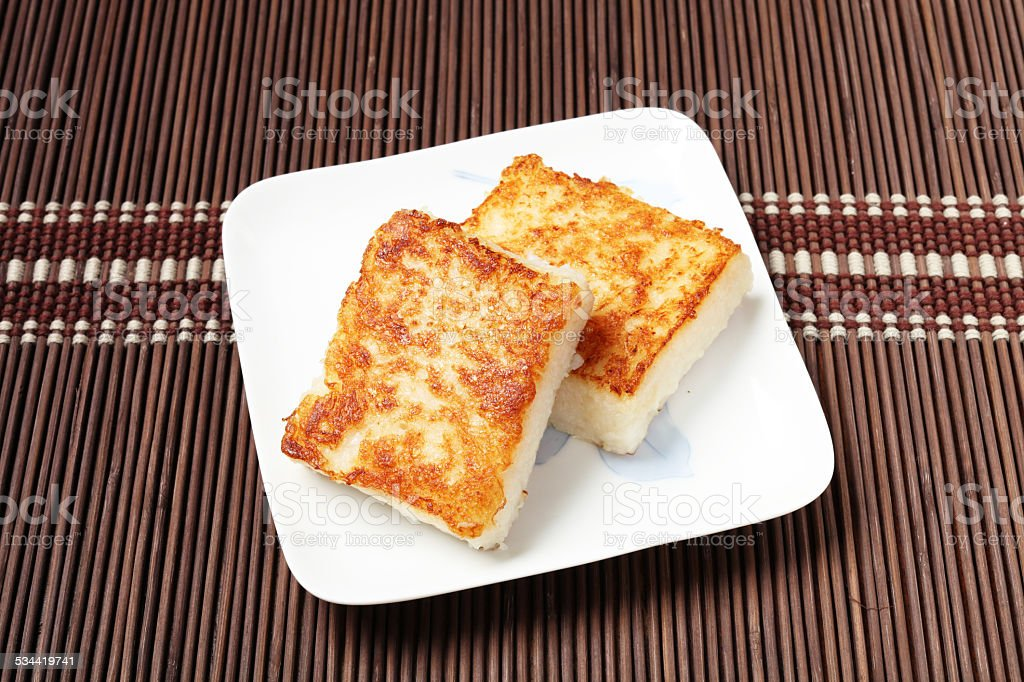 Turnip Cake stock photo