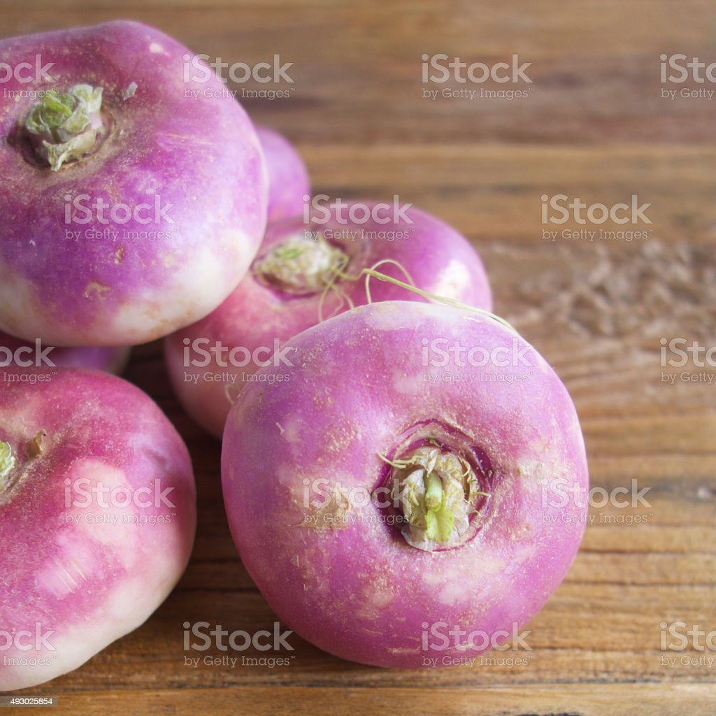 Turnips stock photo