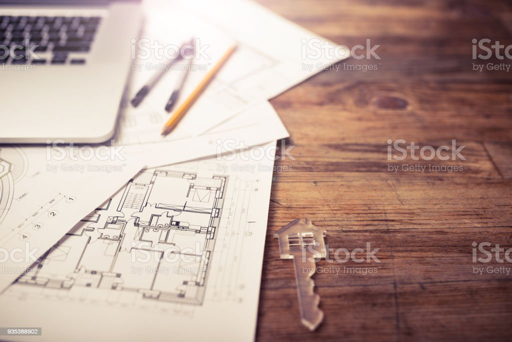 Turnkey projects stock photo