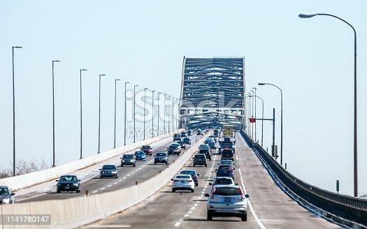 Turnpike traffic - New Jersey, USA