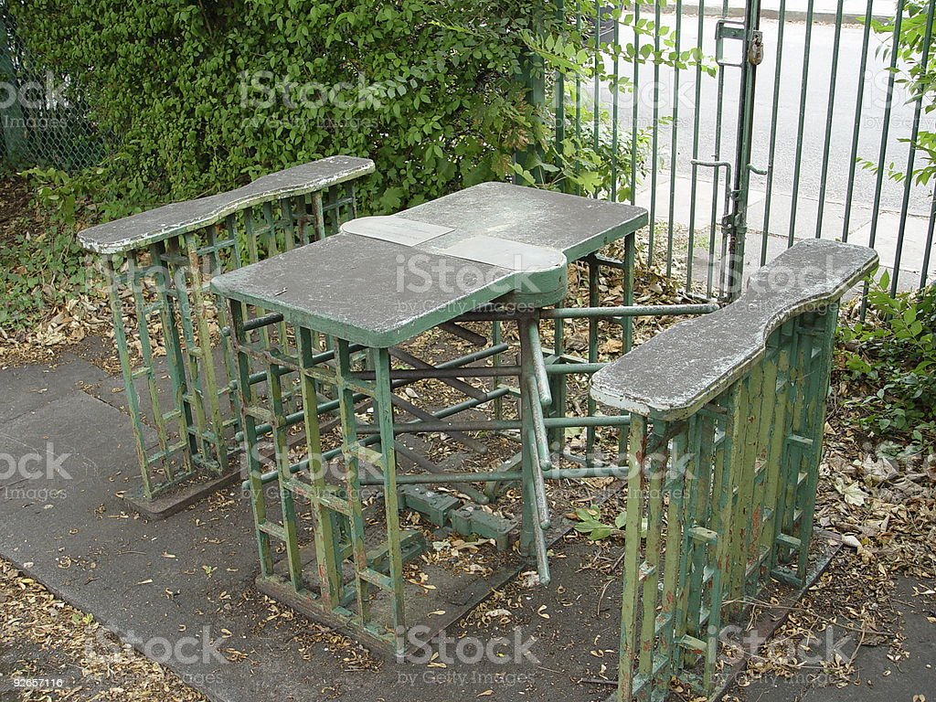 Turnstiles royalty-free stock photo