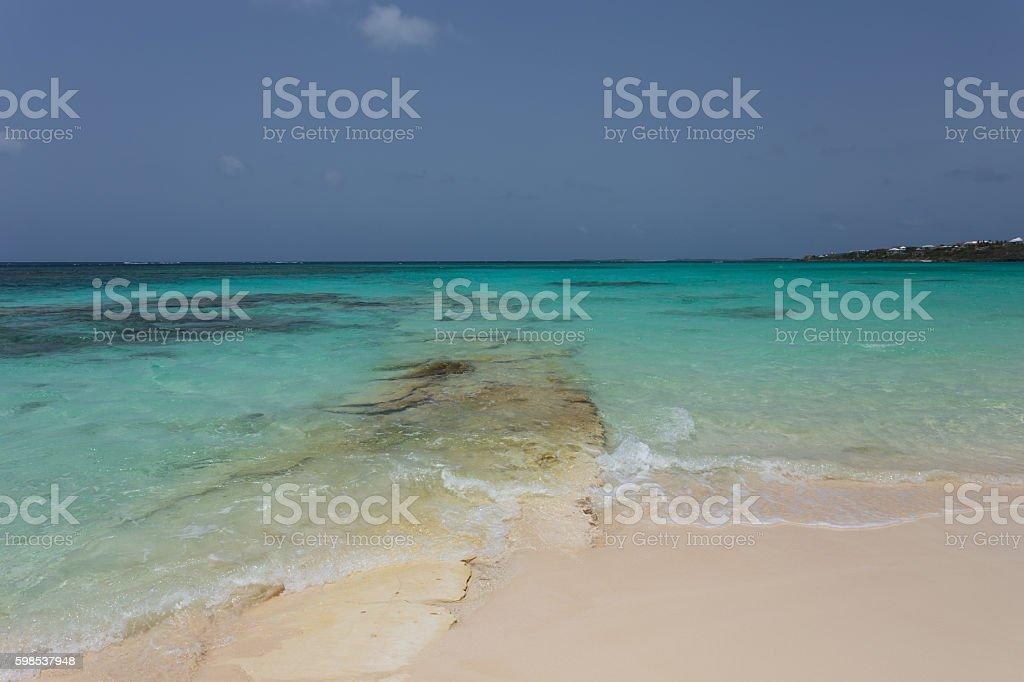 Turquoise de la mer photo libre de droits