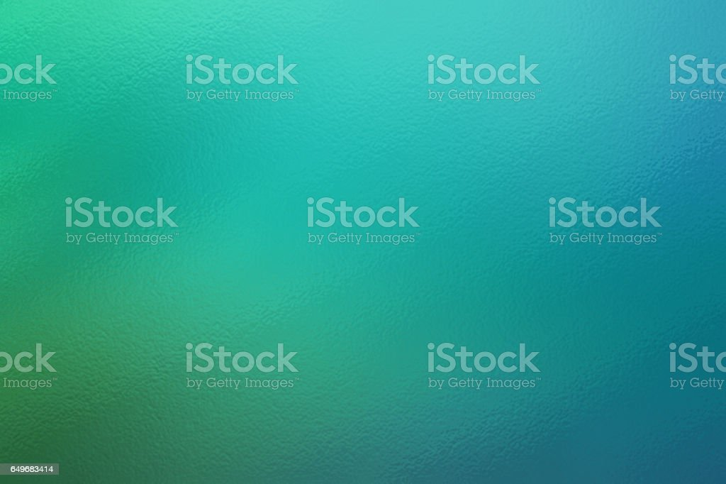 Turquoise abstract glass texture background or pattern, creative design template stock photo
