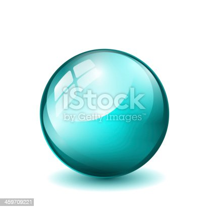 istock turquoise ball isolated 459709221