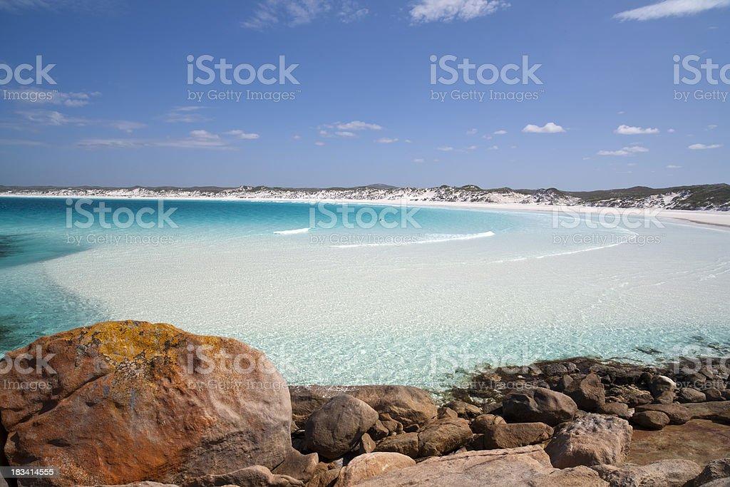 Turquoise Bay stock photo