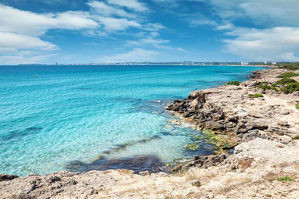 Türkis Strand nahe Gallipoli, Italien – Foto
