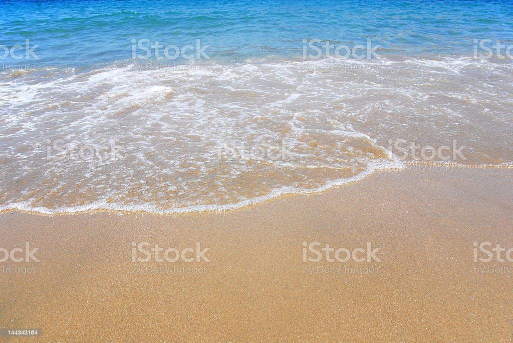 turquoise beach royalty-free stock photo