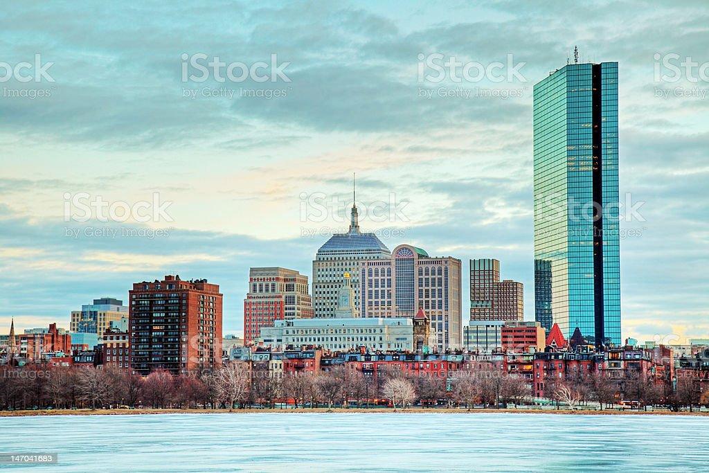 Turquoise Boston stock photo