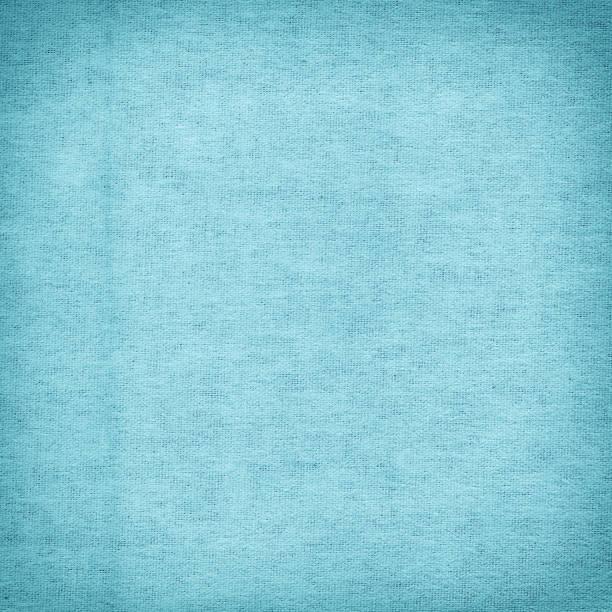 Turquoise canvas surface background stock photo
