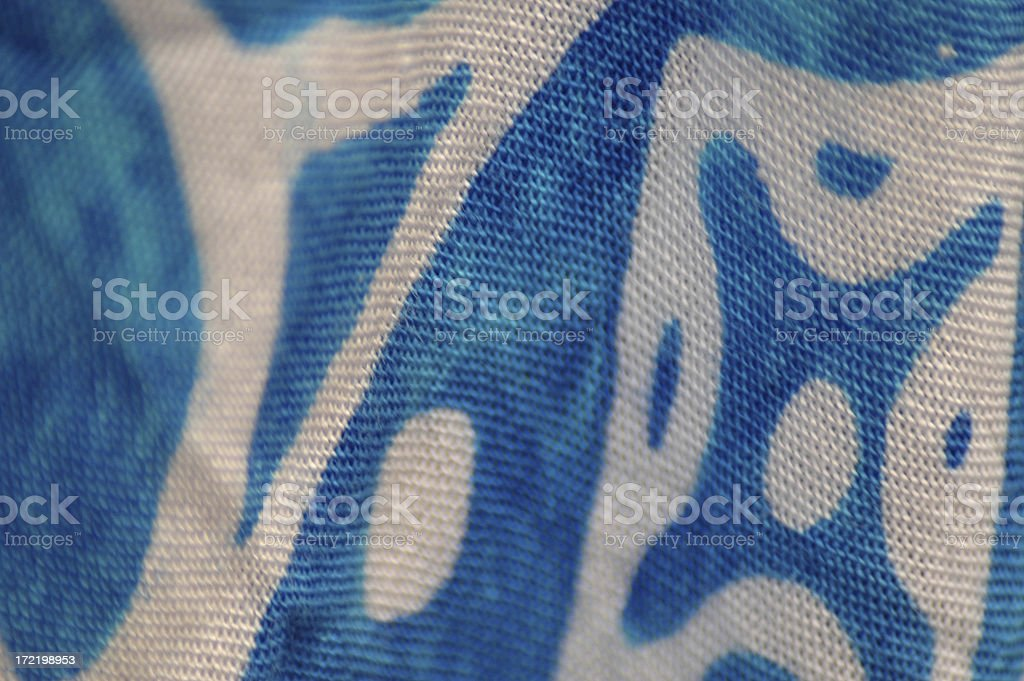 turquoise cloth royalty-free stock photo
