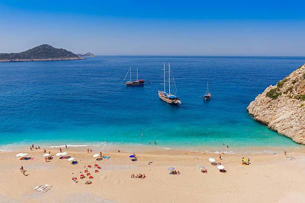 Turquoise Coast stock photo