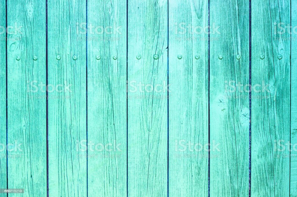 Turquoise Colored Wood Texture stock photo