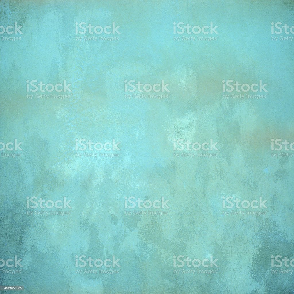 Turquoise concrete background stock photo
