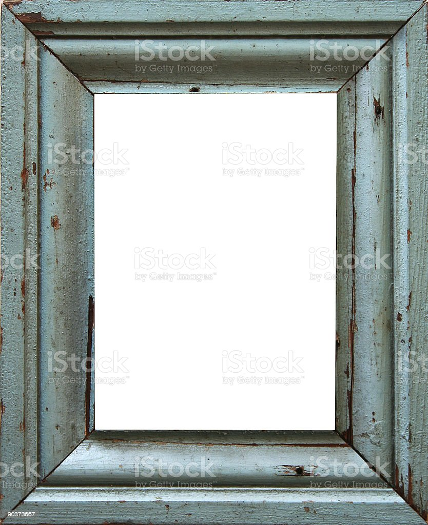 turquoise frame stock photo