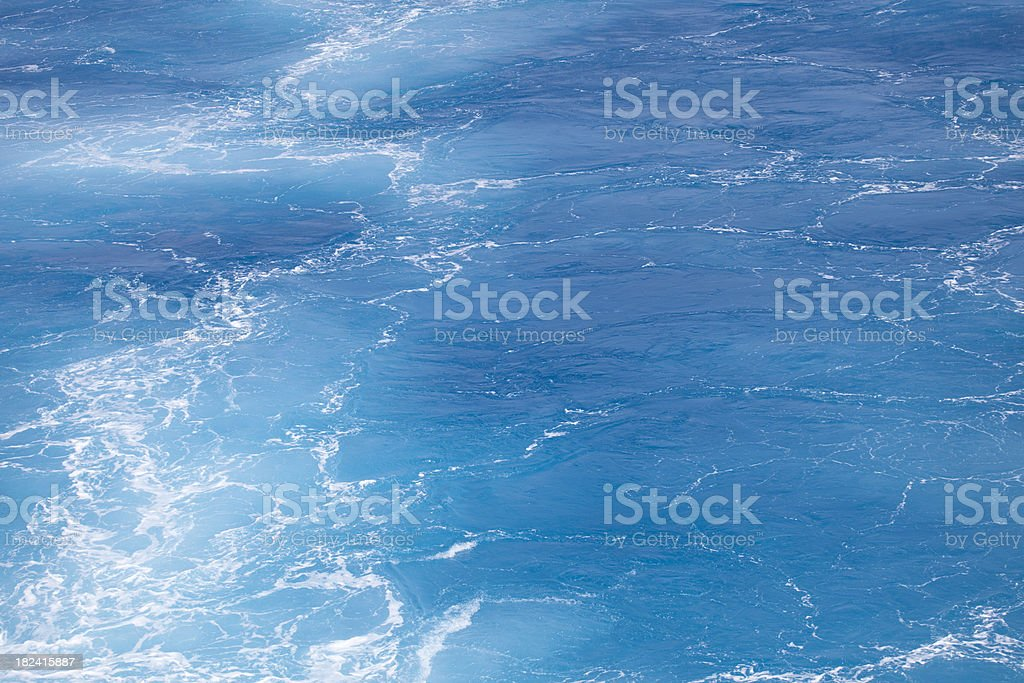 Turquoise Ocean Background royalty-free stock photo