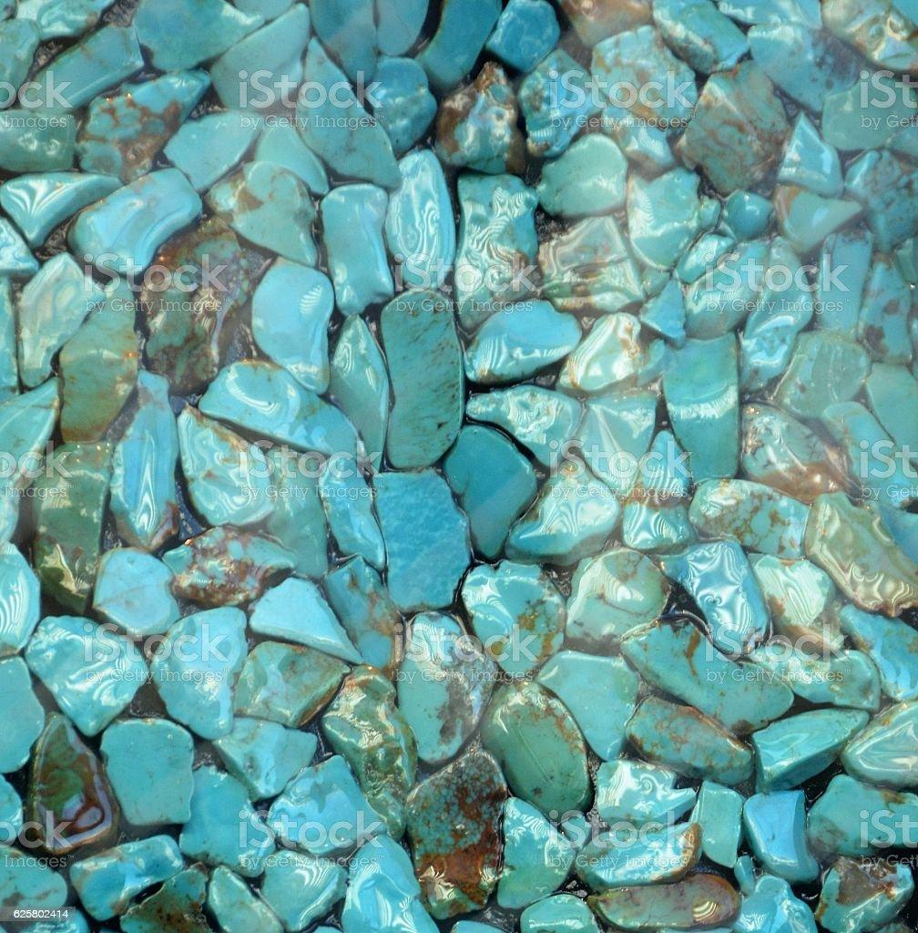 Azul turquesa - foto de stock