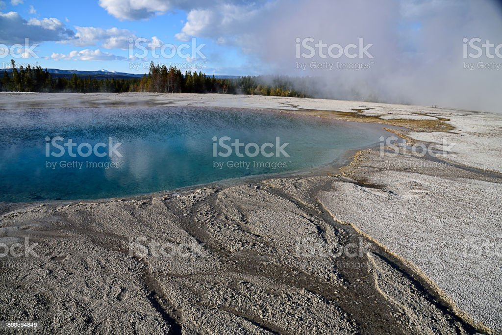 Turquoise Pool stock photo