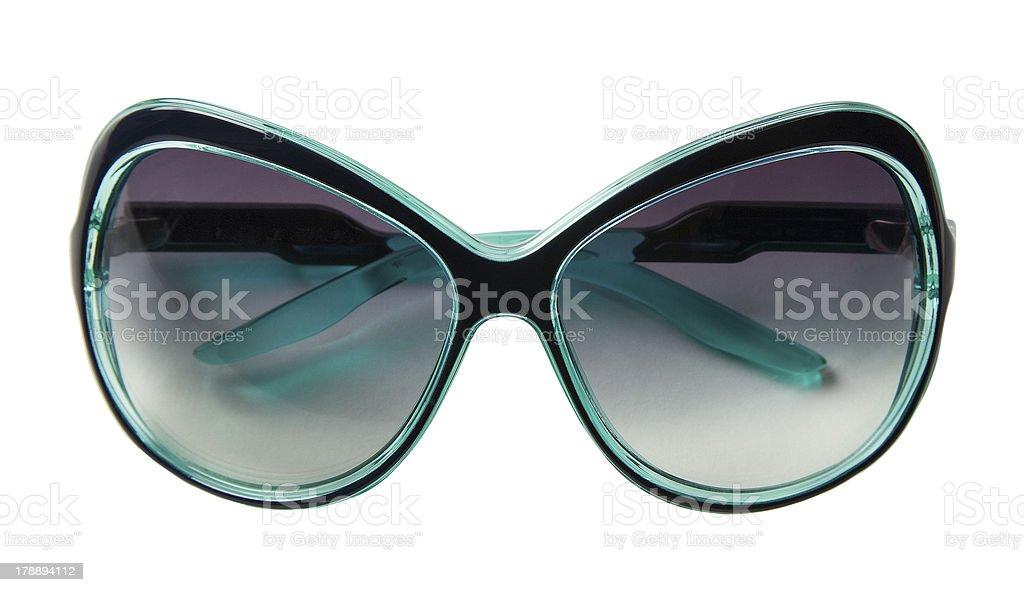 Turquesa Vintage Gafas Con Marco Grueso - Fotografía de stock y más ...